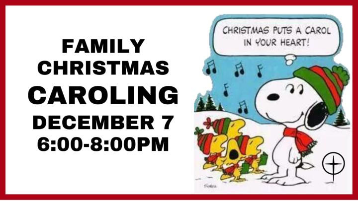 Family Christmas Caroling logo image