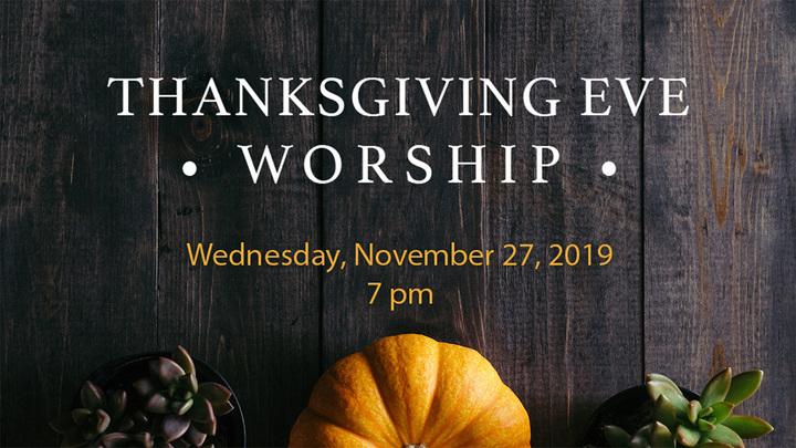 Thanksgiving Eve Worship logo image