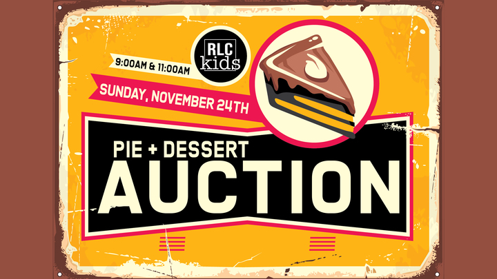 RLC Kids Pie + Dessert Auction logo image