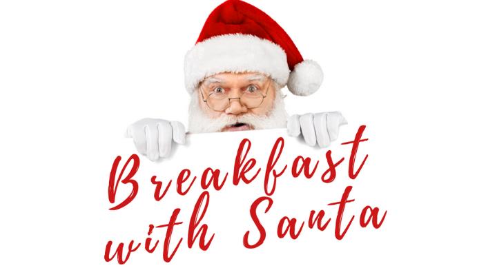 BREAKFAST WITH SANTA  logo image