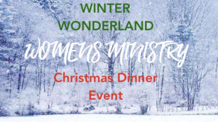 WOMEN'S MINISTRY CHRISTMAS DINNER logo image