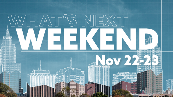 What's Next Weekend logo image