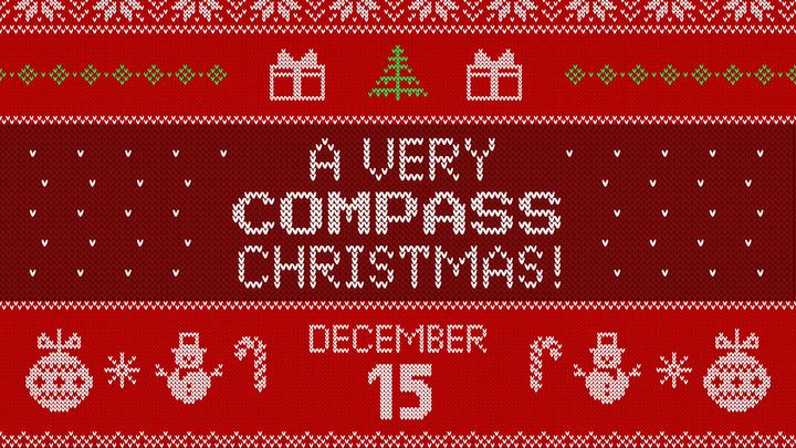 A Very Compass Christmas logo image