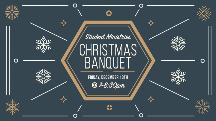 Student Ministries Christmas Banquet  logo image