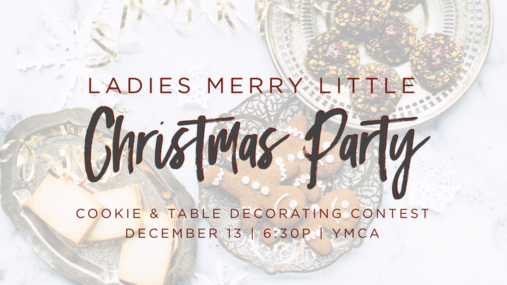 Ladies Merry Little Christmas Party logo image