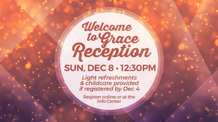 Halfmoon Welcome to Grace Reception logo image