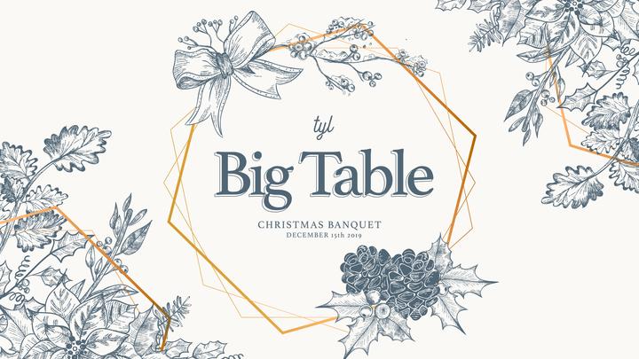 TYL Big Table Banquet logo image