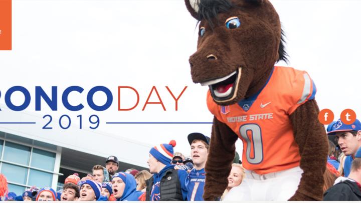 BRONCO DAY!-FREE logo image