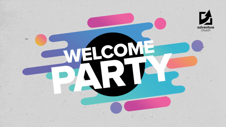WELCOME PARTY logo image