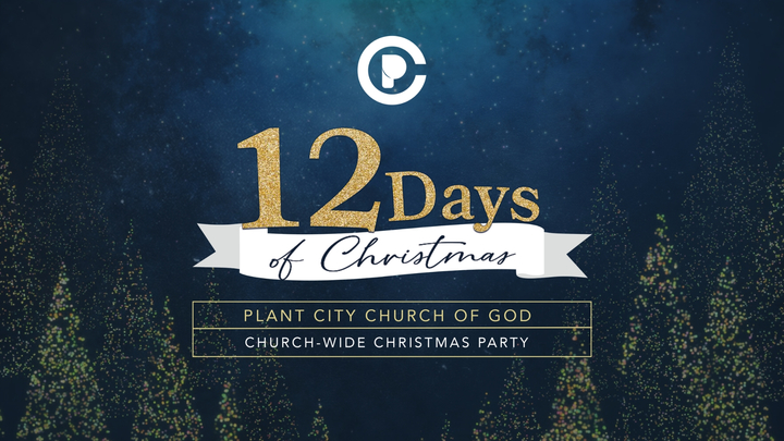 12 Days of Christmas: Church-Wide Christmas Party logo image