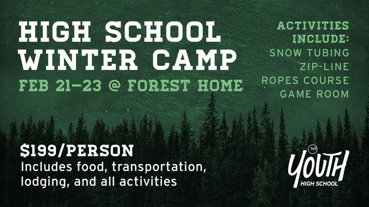 High School Winter Camp logo image