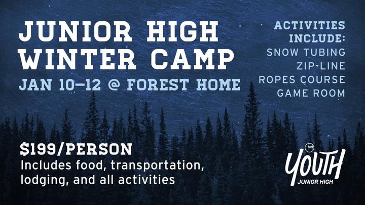 Junior High Winter Camp logo image