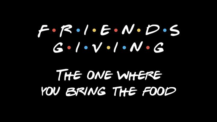 Friendsgiving logo image
