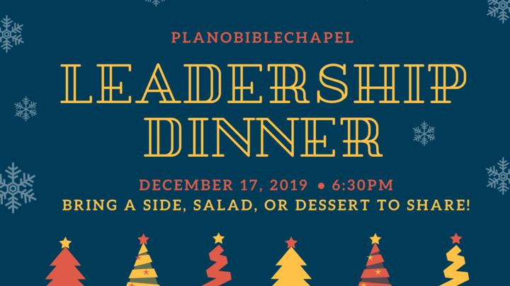 Leadership Dinner logo image