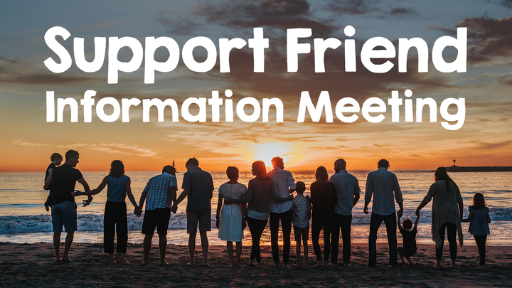 Support Friends Information Meeting logo image