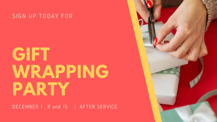 Gift Wrapping Party  logo image