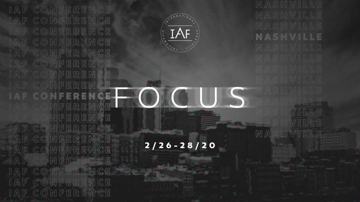 IAF CONFERENCE 2020 logo image
