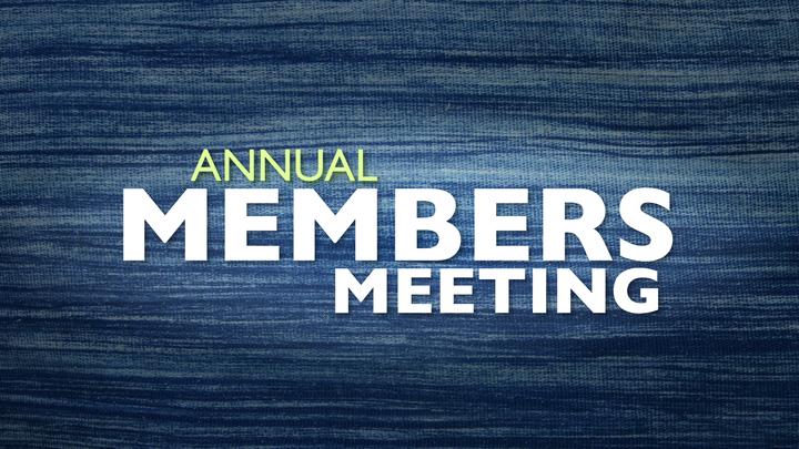 Annual Members Meeting logo image