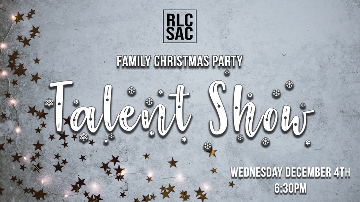 RLC Family Christmas Party Talent Show logo image