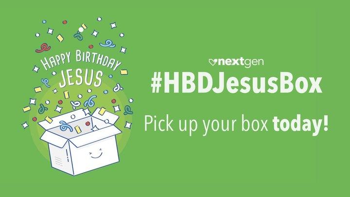 #HBDJesusBox logo image