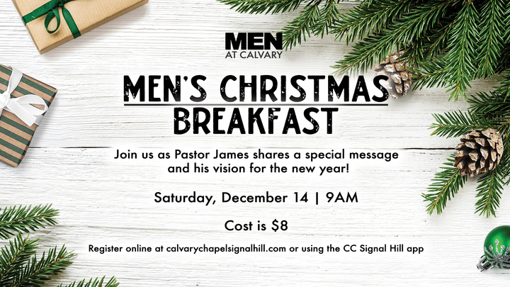 Men's Christmas Breakfast - December 14th, 2019 logo image