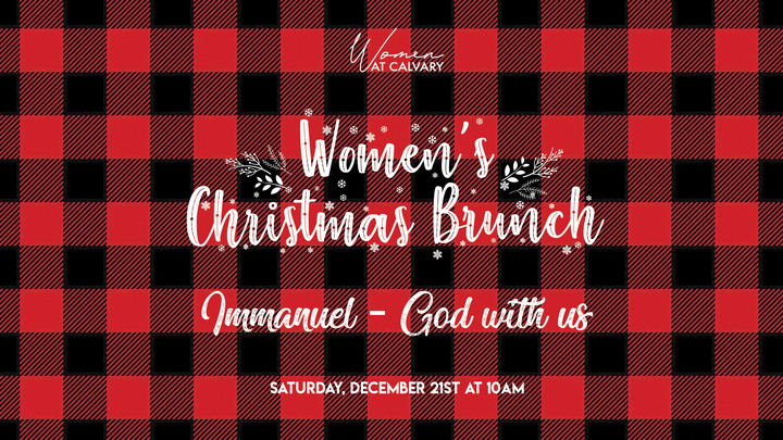Women's Christmas Brunch  with Guest Speaker Sonia Trujillo logo image