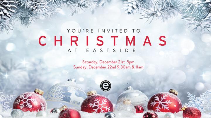 Christmas - Sunday @ 11:00am logo image