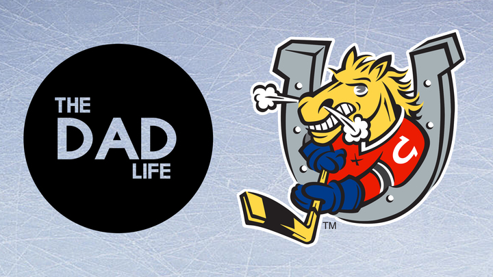 The Dad Life: Dads & Sons Colt's Game logo image