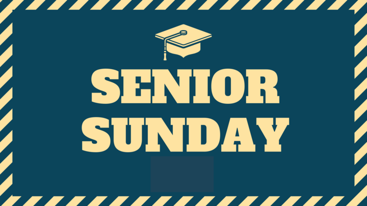 Senior Sunday Recognition logo image