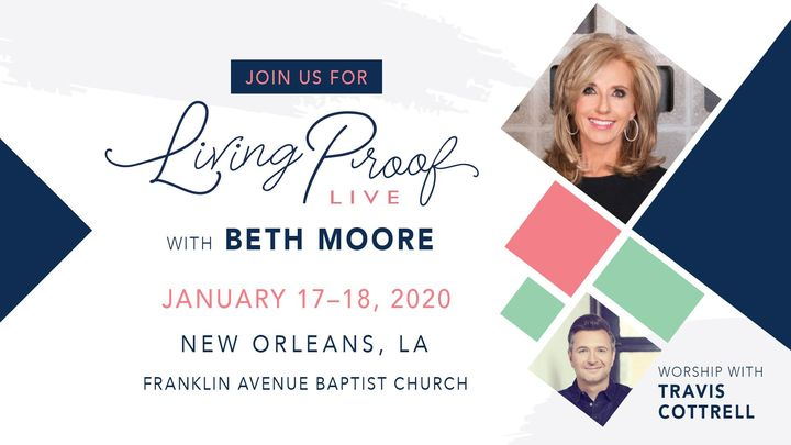 Living Proof Live with Beth Moore logo image