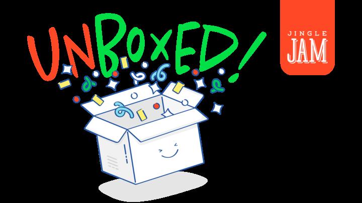 Jingle Jam: Unboxed! logo image