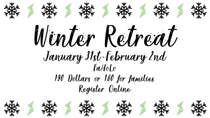 Winter Retreat logo image