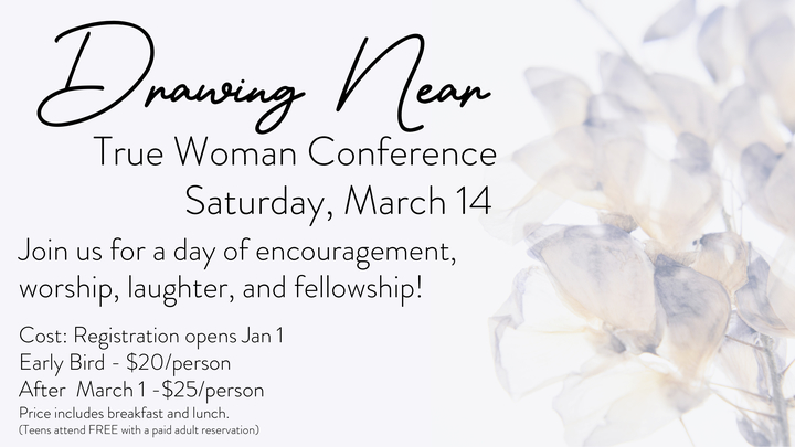 True Woman Conference - Drawing Near logo image