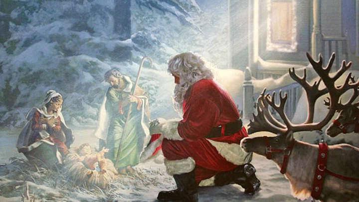 Breakfast with Santa at the Manger logo image