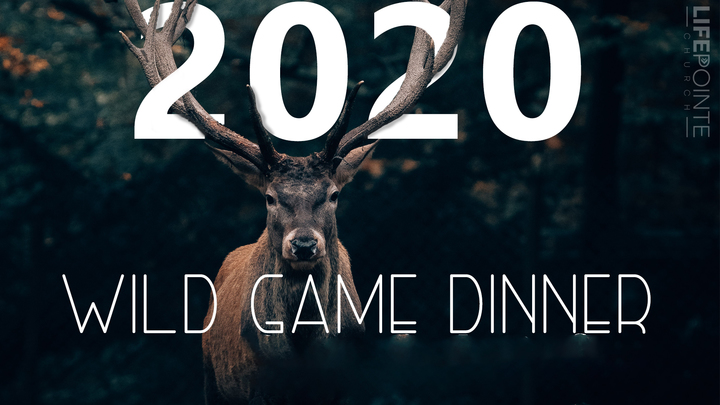 Wild Game Dinner 2020, February 28th, Friday Males only logo image