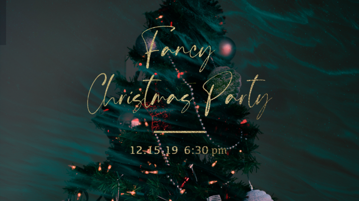 1829 Fancy Christmas Party logo image