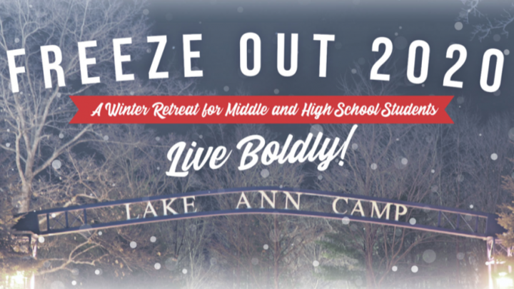 Middle School Winter Retreat: Lake Ann Camp logo image