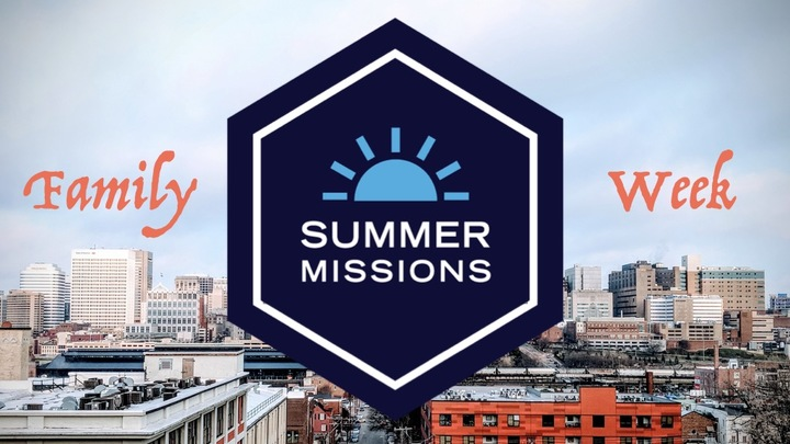 Family Week | Summer Missions | July 19-24, 2020 logo image