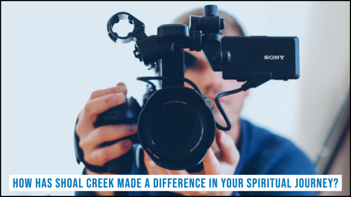 How has Shoal Creek made a difference in your spiritual journey? logo image