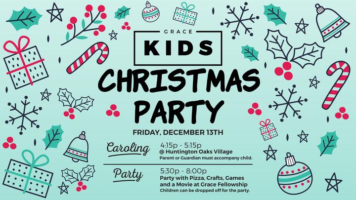 KIDS | Christmas Party logo image