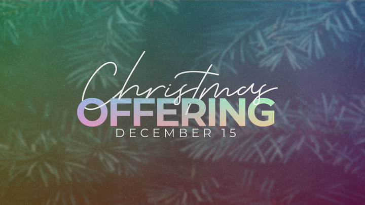 Christmas Offering logo image