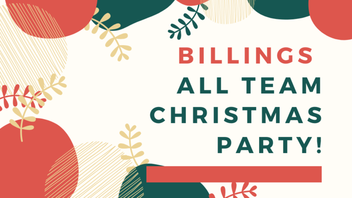 Billings | All Team Christmas Party!  logo image