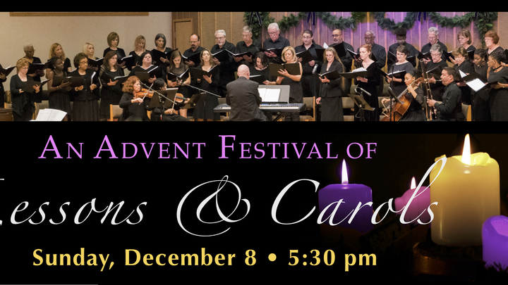 2019 Advent Lessons and Carols logo image