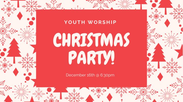 Youth Worship: Christmas Party logo image