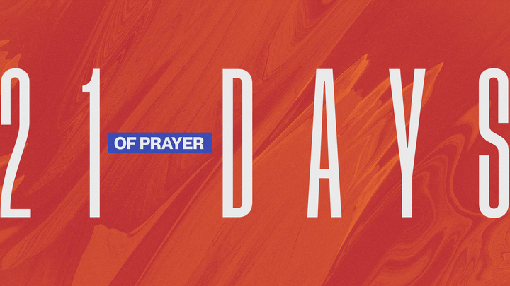 21 Days of Prayer logo image