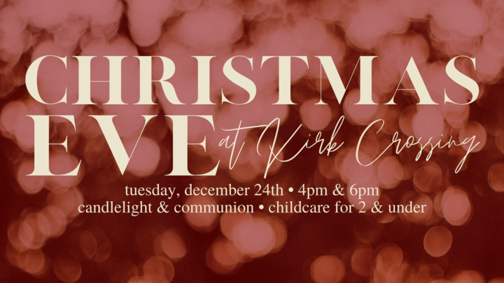Christmas Eve at Kirk Crossing logo image