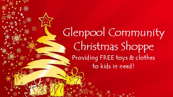 Serve At The Glenpool Christmas Shoppe logo image