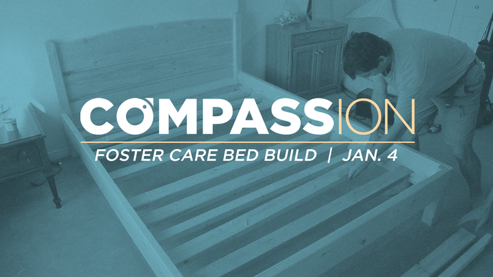 Compassion: Foster Tree Bed Build logo image
