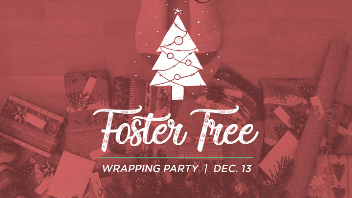 Foster Tree Wrapping Party logo image
