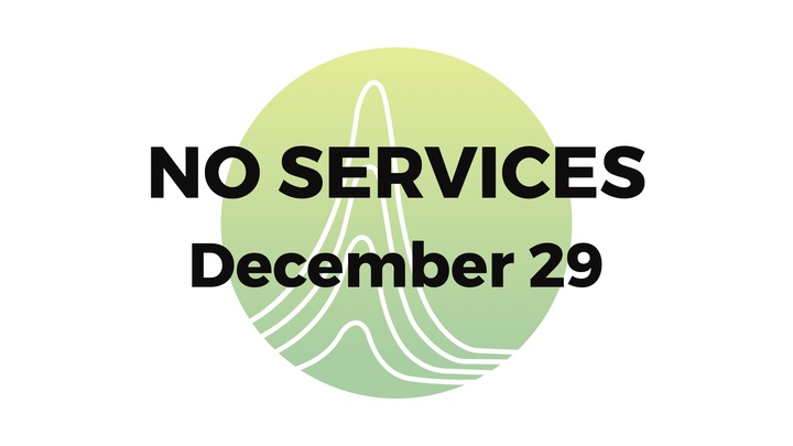 No Services on Dec 29 logo image